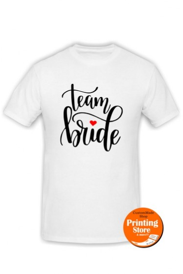 T-shirt Bride Team