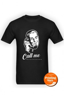 T-shirt Call me man
