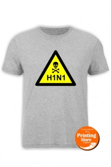 T-shirt H1N1 danger