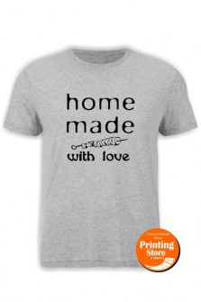 T-shirt Homemade with love soublaki
