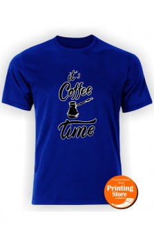T-shirt It's coffee time