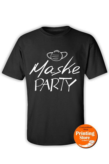 T-shirt Maske party