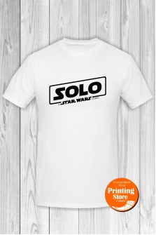 T-shirt Solo The Star Wars Story White