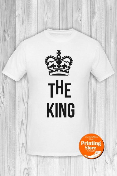 T-shirt The King White