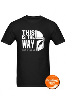 T-shirt This is the way mandalorian