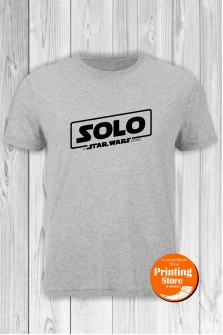 T-shirt Solo The Star Wars Story Grey