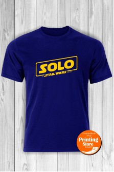 T-shirt Solo The Star Wars Story Blue