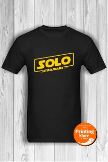 T-shirt Solo The Star Wars Story Black