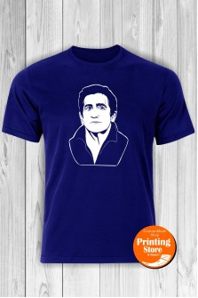T-shirt Jake Gyllenhaal Blue