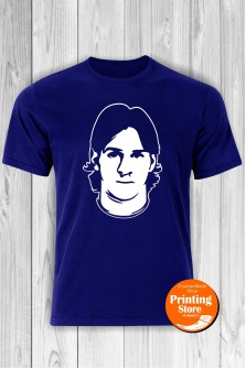T-shirt Lionel Messi Blue