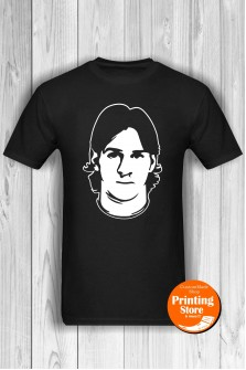 T-shirt Lionel Messi Black
