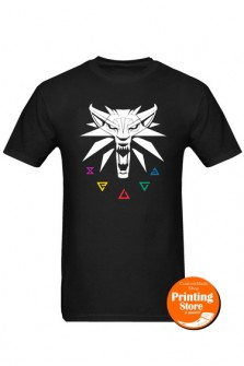 T-shirt The Witcher Signs